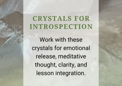 Crystals for Introspection