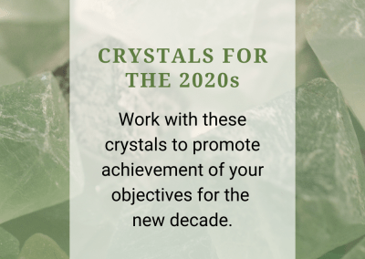 Crystals for the 2020s