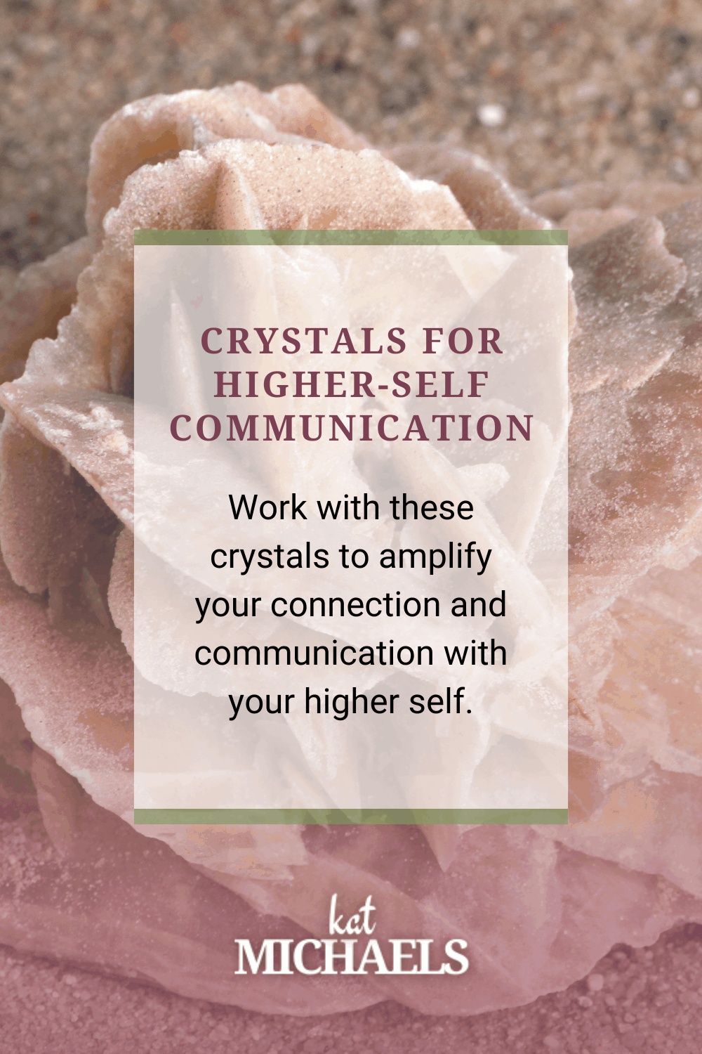Crystals for Higher-Self Communication