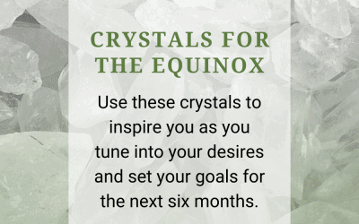 Crystals for the Equinox