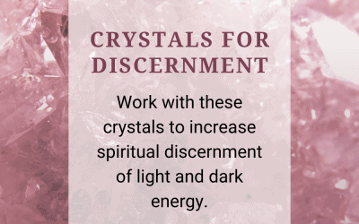 Crystals for Discernment